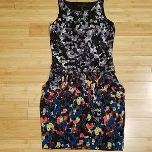BCBG Max Azria Multicolor Tank Mini Dress